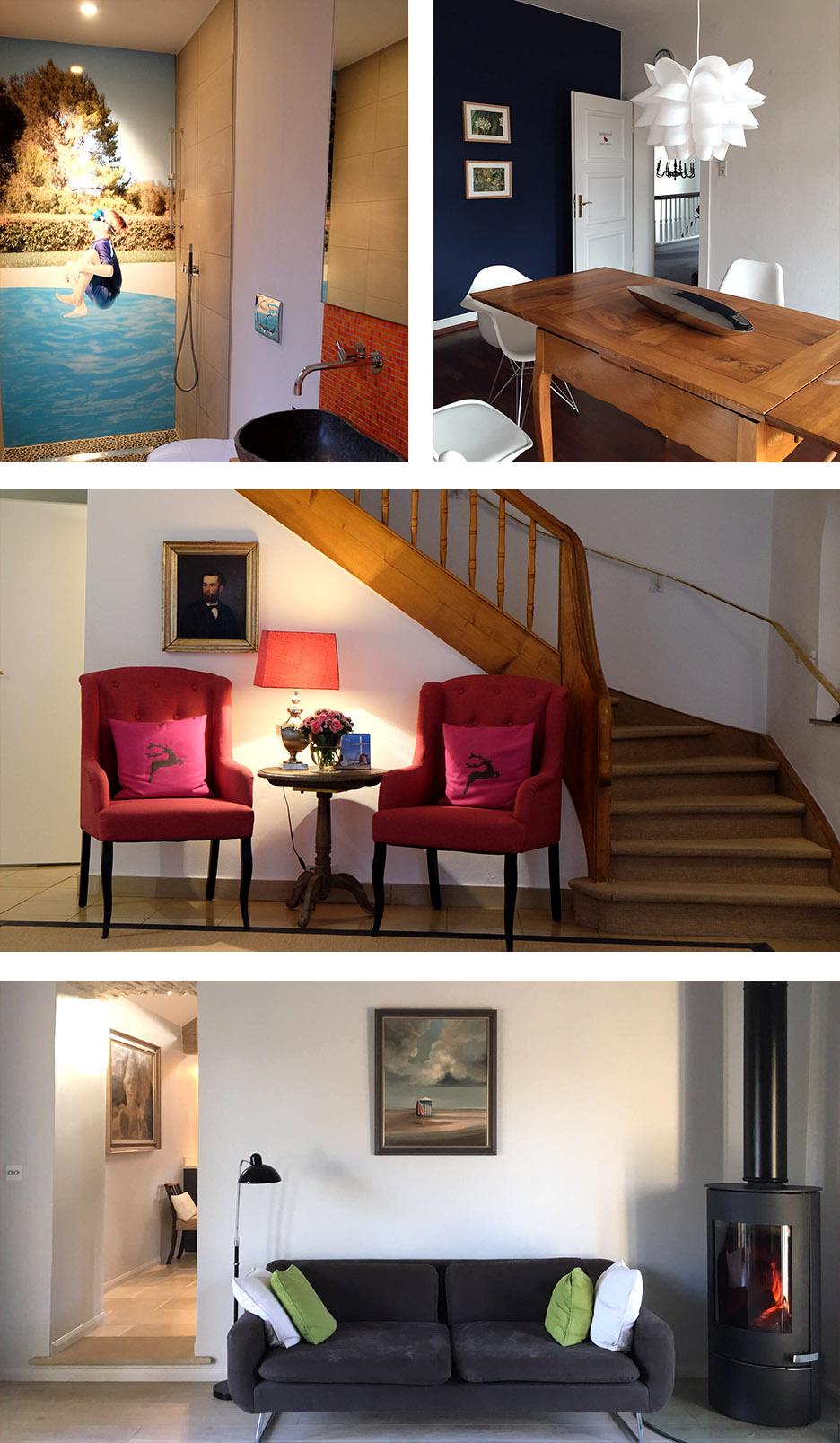 Vier Wohnbereiche werden mit Hilfe von Feng Shui Beratung und Geomantie umgebaut